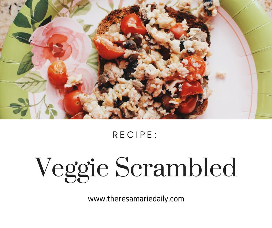 Veggie Scrambled Recipe